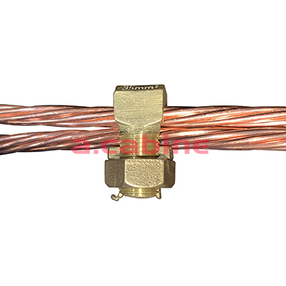 Conector Parafuso Fendido Simples (Split Bolt)