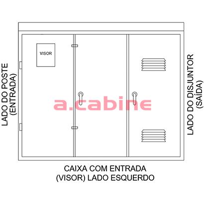 Caixa de Medição CPFL