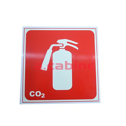 Extintor de Gás Carbônico (CO2) e Abrigo