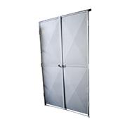 Portas para cabines em alvenaria